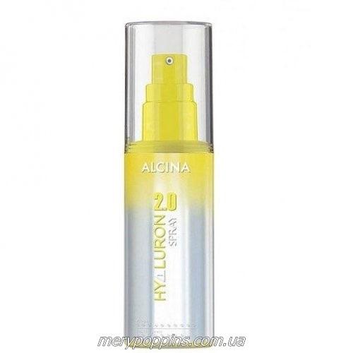 Спрей увлажняющий термо для сухих волос Alcina Hyaluron 2.0.