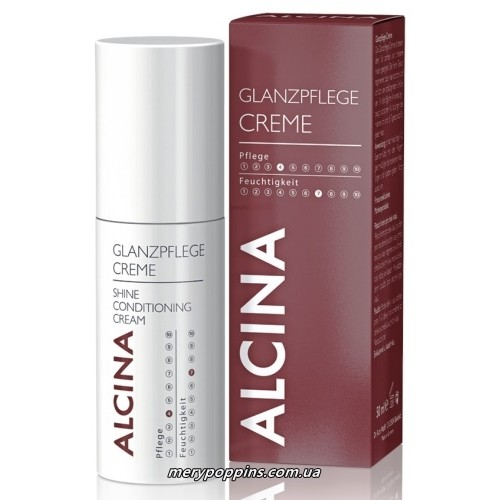 Крем-кондиционер для блеска волос ALCINA Glanzpflege-Creme - 50 мл.