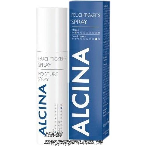 Спрей увлажняющий для нормальных и тонких волос Alcina Moisture Spray.
