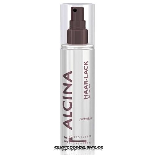 Лак-спрей экстрим крапельний профессиональный Alcina PROF Haar-Lack - 125 мл.