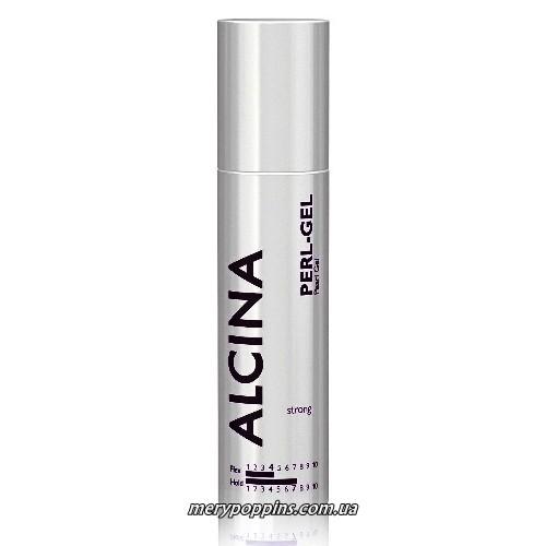 Гель с мерцающим сиянием сильной фиксации Alcina Pearl Gel - 100 мл.