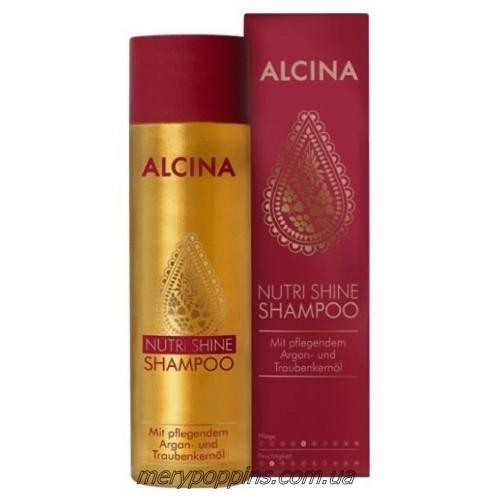 Шампунь для волос с маслами Alcina Nutri Shine.