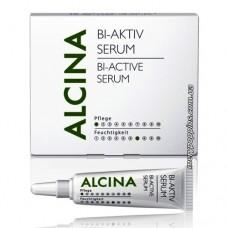 Сыворотка Би-активная для чувствительной кожи головы и ослабленных волос Alcina Bi-Aktiv Serum Hair Therapie - 5x6 мл.