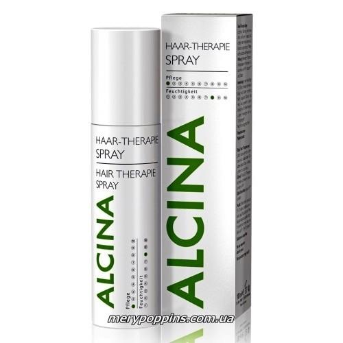 Спрей для оздоровления чувствительной кожи головы и ослабленных волос Alcina Spray Hair Therapie.