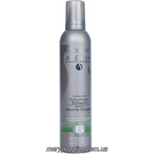 Пенка для объема и природной фиксации волос Alcina B Volume-Schaum 4.4 аерозоль – 300 мл.
