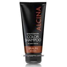 Шампунь оттеночный коричневый Alcina Color shampoo Brown - 150 мл.