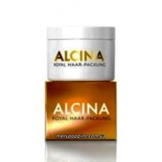 Маска глубокого действия для волос Роял, уход класса люкс Alcina Royal Haar-Packung - 200 мл.