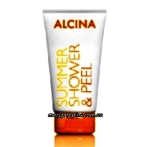 Гель-пилинг для душа солнцезащитный Alcina Summer shower peel – 150 мл.