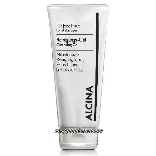 Гель очищающий для комбинированной кожи ALCINA Cleansing Gel.
