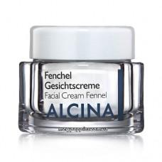 Крем питательный для сухой кожи лица Фенхель Alcina Fenchel Gesichtscreme - 50 мл.