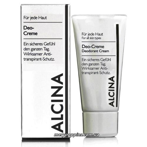 Дезодорант кремовый регулирующий для тела Alcina Deo-Creme – 50 мл.