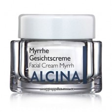 Крем для сухой кожи лица Мирра Alcina Myrrhe Gesichtscreme - 50 мл.