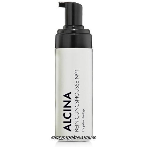 Пенка-мусс очищающая для умывания Alcina Reinigungsmousse N°1 - 150 мл.