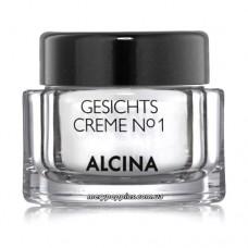Крем увлажняющий для молодой кожи лица Alcina Gesichtscreme N°1 - 50 мл.
