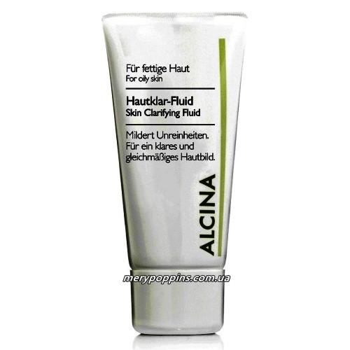 Флюид очищающий для проблемной кожи Alcina Hautklar-Fluid - 50 мл.