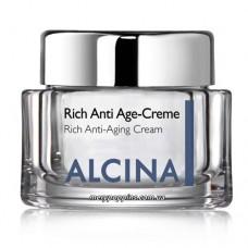 Крем антивозрастной для сухой кожи ALCINA Rich Anti-Age Creme - 50 мл.