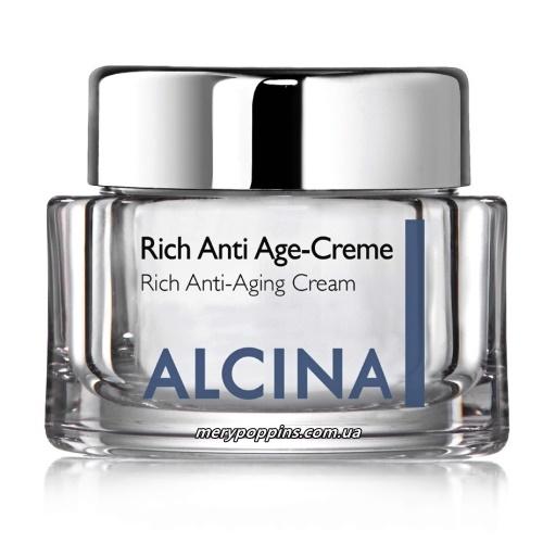 Крем антивозрастной для сухой кожи ALCINA Rich Anti-Age Creme.