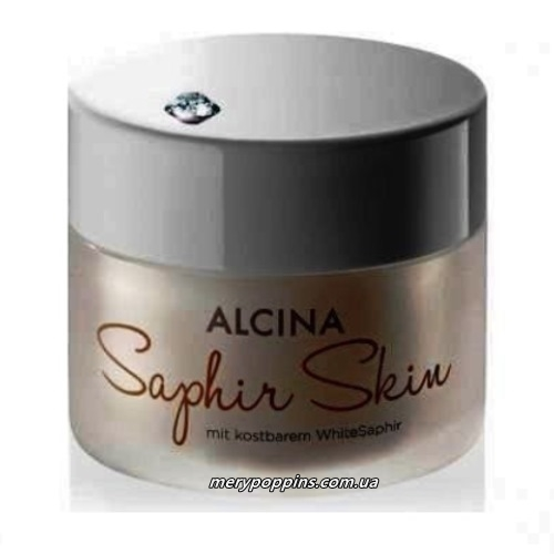Крем для лица Сапфир Alcina Saphir skin cream - 50 мл.