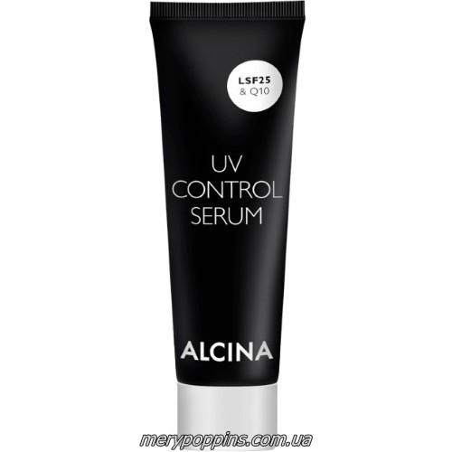 Сыворотка от морщин и пигментных пятен ALCINA UV Control Serum SPF 25 и Q10 – 50 мл.