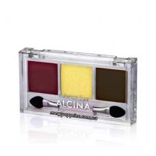 Тени для век трехцветные Alcina Summer Eye Powder.