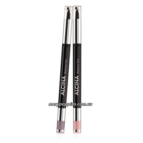 Тени для век с карандашом 2 в 1 Alcina Eye Pencil Two In One