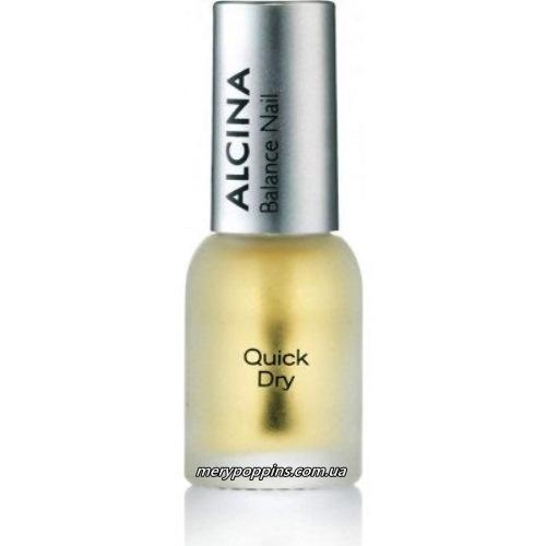 Средство для быстрого высыхания лака для ногтей Alcina Balance Nail Quick Dry.