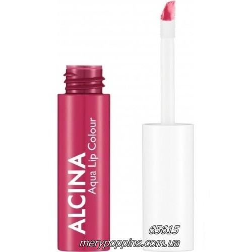 Блеск для губ водостойкий Alcina Aqua Lip Colour water lily.