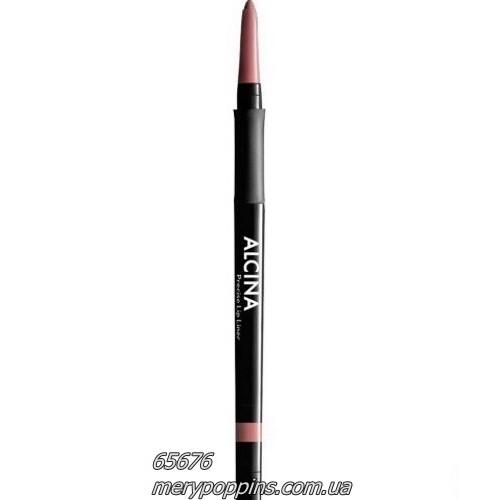 Карандаш контурный для губ Alcina Precise Lip Liner 010 natural.