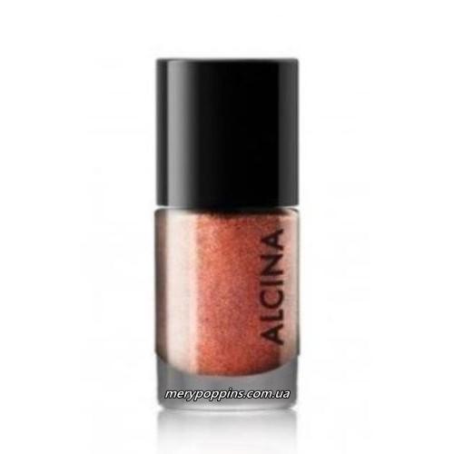 Лак для ногтей медный Alcina Ultimate Nail Colour 080 copper