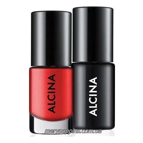 Лак для ногтей Alcina Long Lasting Duo 010 sunset набор 2* 5мл.