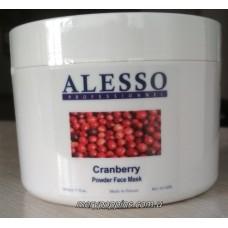 Маска порошковая для лица Клюква омолаживающая ALESSO Mask Cranberry - 200 гр.