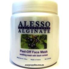 Маска альгинатная с черной смородиной успокаивающая ALESSO Peel-Off Face Mask - 200 гр.