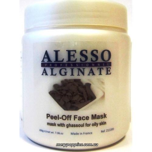 Маска альгинатная с глиной Гассул для жирной и комбинированной кожи Alesso.