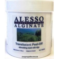 Маска альгинатная стимулирующая полупрозрачная с морскими водорослями ALESSO Translucent Peel-Off - 200 гр.