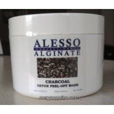 Маска для лица детокс очищающая для стрессовой кожи ALESSO Charcoal DETOX - 200 гр.