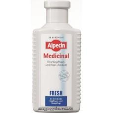 Тоник витализирующий для жирной кожи головы и волос Alpecin Medicinal Fresh Oily Scalp - 200 мл.