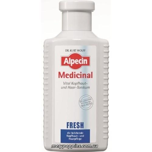Тоник витализирующий для жирной кожи головы и волос (Alpecin Medicinal Fresh Oily Scalp)