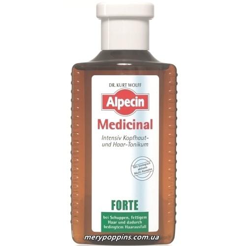 Тоник от перхоти и выпадения волос Alpecin Medicinal Forte Anti Dandruff - 200 мл.