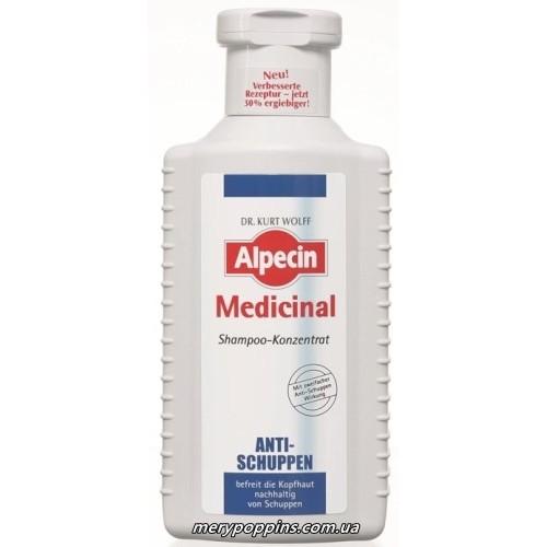 Шампунь-концентрат от перхоти Alpecin Medicinal Shampoo Anti Dandruff - 200 мл.
