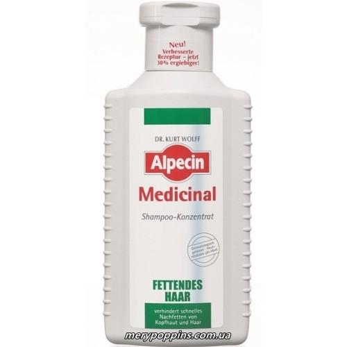 Шампунь-концентрат для жирной кожи головы (Alpecin Medicinal Shampoo Oily Hair)