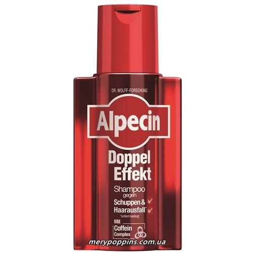 Шампунь от перхоти и выпадения волос Alpecin Double-Effect Shampoo - 200 мл.