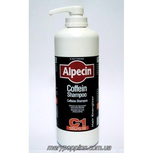 Шампунь кофеиновый от выпадения волос (Alpecin C1)