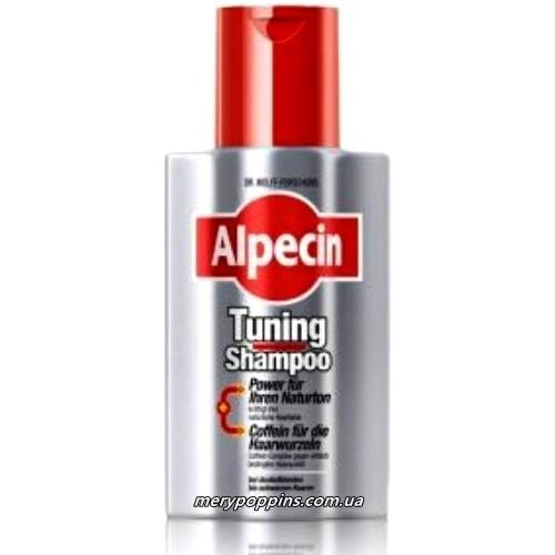 Тюнинг - шампунь с анти-эйдж эффектом Alpecin Tuning-Shampoo - 200 мл.