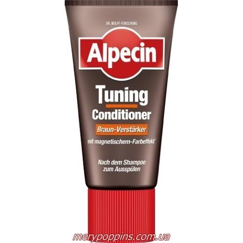 Конидиционер для волос для тонирования первичной седины Alpecin Tuning-Conditioner Braun – 150 мл.
