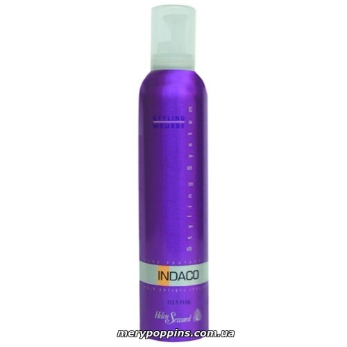 Мусс для укладки волос средней фиксации HELEN SEWARD INDACO Styling Mousse Medium Hold.