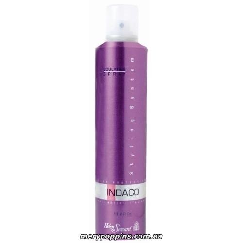 Лак для волос сильной фиксации с УФ защитой HELEN SEWARD INDACO Sculpting Spray Strong Hold.