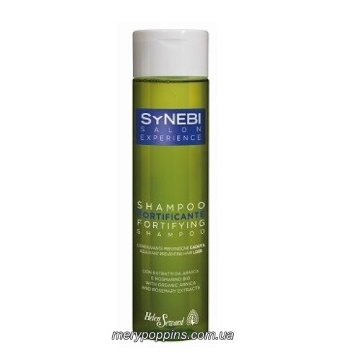 Шампунь укрепляющий против выпадения волос Helen Seward с органическими экстрактами арники и розмарина – 300 мл.