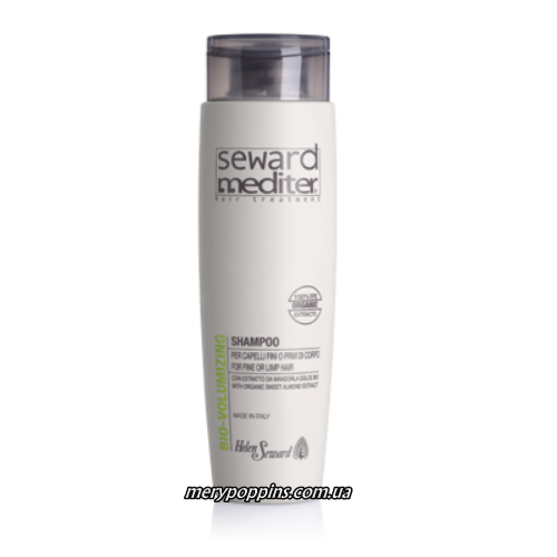 Шампунь для придания объема HELEN SEWARD MEDITER BIO Volumizing shampoo.