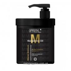 Маска для окрашенных и поврежденных волос Imel Macadamia Oil- 1000 мл.
