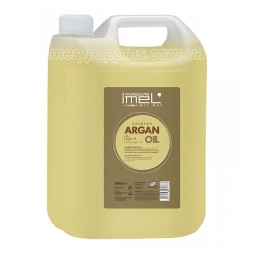 Шампунь салонный с аргановым маслом IMEL – 4000 мл.